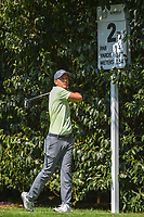 Russell Henley (USA) watches his tee shot on 2 during round 3 of the World Golf Championships, Mexico, Club De Golf Chapultepec, Mexico City, Mexico. 3/3/2018.<br /> Picture: Golffile | Ken Murray<br /> <br /> <br /> All photo usage must carry mandatory copyright credit (&copy; Golffile | Ken Murray)