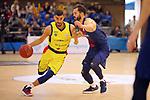 XXXVIII Lliga Nacional Catalana ACB 2017.<br /> FC Barcelona Lassa vs BC Morabanc Andorra: 89-70<br /> Jaime Fernandez vs Pau Ribas.