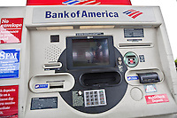 A Bank of America ATM is pictured in South Portland, Maine, Sunday June 16, 2013.