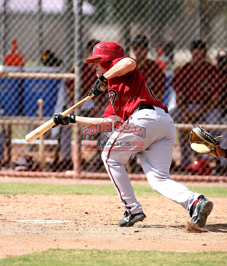 Jake Elmore / Arizona Diamondbacks 2008 Instructional League..Photo by:  Bill Mitchell/Four Seam Images