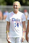 11 September 2011: Duke's Erin Koballa. The Duke University Blue Devils defeated the University of North Carolina at Greensboro Spartans 2-0 at Koskinen Stadium in Durham, North Carolina in an NCAA Division I Women's Soccer game.