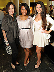 From left: Sharon Worley, Brittany Darrington and Shireen Hadi at a private shopping party in celebration of Sex and the City 2 and benefitting the Rose Ribbon Foundation at Tootsie's Wednesday May 26,2010.  (Dave Rossman Photo)
