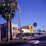 Small town centre buildings, Mildura, Victoria, Australia