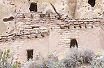Cliff Dwellings, Bandelier NM, New Mexico, USA