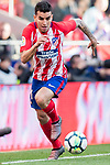 Angel Correa of Atletico de Madrid  in action during the La Liga 2017-18 match between Atletico de Madrid and Athletic de Bilbao at Wanda Metropolitano  on February 18 2018 in Madrid, Spain. Photo by Diego Souto / Power Sport Images