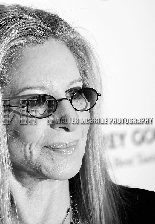 Barbra Streisand  arriving for the 40th Annual Chaplin Award Gala Honoring Barbra Streisand at Avery Fisher Hall in New York City on 4/22/2013.