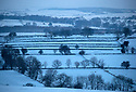 08/12/17<br /> <br /> The first light of day reveals a winter wonderland after overnight snowfall near Chelmorton in the Derbyshire Peak District.<br />   <br /> All Rights Reserved F Stop Press Ltd. +44 (0)1335 344240 +44 (0)7765 242650  www.fstoppress.com