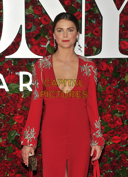 NEW YORK, NY - JUNE 12: Keri Russell at the 70th Annual Tony Awards at The Beacon Theatre on June 12, 2016 in New York City. <br /> CAP/MPI/JP<br /> &copy;JP/MPI/Capital Pictures