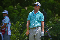 Charley Hoffman (USA) watches his tee shot on 8 during round 4 of the Fort Worth Invitational, The Colonial, at Fort Worth, Texas, USA. 5/27/2018.<br /> Picture: Golffile | Ken Murray<br /> <br /> All photo usage must carry mandatory copyright credit (© Golffile | Ken Murray)