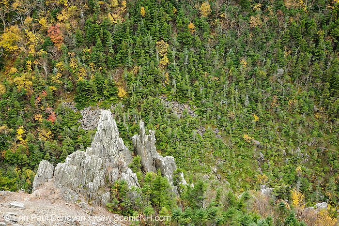 Dixville Notch, New Hampshire during the autumn months in Dixville, New Hampshire USA.