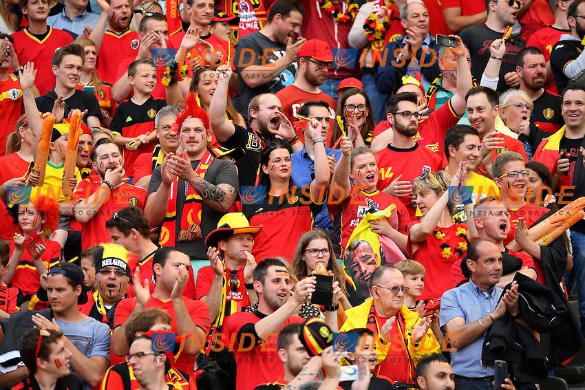 Supporters and Fans   <br /> Bruxelles 05-06-2016 Calcio Amichevole Belgio Norvegia<br /> Foto Photonews/Panoramic/Insidefoto