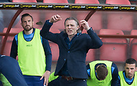 Wycombe Wanderers Manager Gareth Ainsworth during the Sky Bet League 2 match between Leyton Orient and Wycombe Wanderers at the Matchroom Stadium, London, England on 1 April 2017. Photo by Andy Rowland.