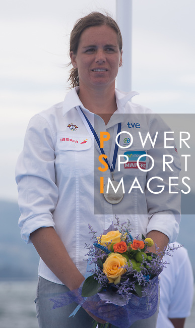 Marina Alabau Plate medal in class  Rsx during the ISAF Sailing World Championships 2014 at the Real Club Maritimo of Santander on September 19, 2014 in Santander, Spain. Photo by Nacho Cubero / Power Sport Images