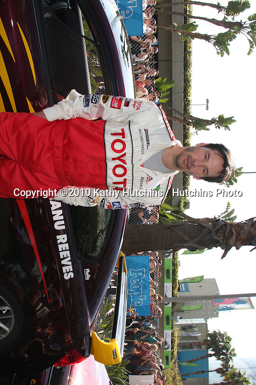 Keanu Reeves.at the Toyota Celeb Race Qualifying 2010.Toyota Celeb Race Qualifying 2010.Long Beach, CA.April 16, 2010.©2010 Kathy Hutchins / Hutchins Photo...