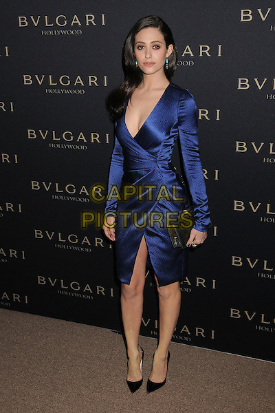 LOS ANGELES, CA - FEBRUARY 25 - Emmy Rossum. BVLGARI &quot;Decades of Glamour&quot; Oscar Party held at Soho House on 25th February 2014.<br /> CAP/ADM/BP<br /> &copy;Byron Purvis/AdMedia/Capital Pictures