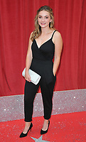 Rosie Bentham at the British Soap Awards 2018, Hackney Town Hall, Mare Street, London, England, UK, on Saturday 02 June 2018.<br /> CAP/CAN<br /> &copy;CAN/Capital Pictures