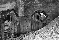 Gemona, Terremoto del Friuli del Maggio 1976.<br /> Gemona, Friuli earthquake in May 1976.