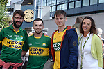 17-1-2017: Nigel Curran, Padraig Casey, Kevin Curran and Eithne O'Leary from Renard at the All-Ireland Football final at Croke Park on Sunday.<br /> Photo: Don MacMonagle