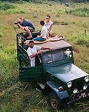 SRI LANKA, Asia, tourist taking a photograph in Udawalawe National Wildlife Park