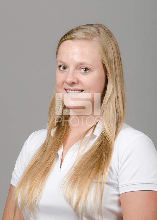 STANFORD, CA - September 27th, 2011: Stanford Water Polo athlete portrait.