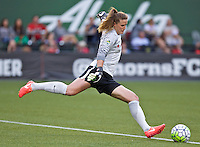 Portland, Oregon - Wednesday June 22, 2016: Chicago Red Stars goalkeeper Alyssa Naeher (1) during a regular season National Women's Soccer League (NWSL) match at Providence Park.