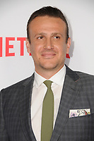 "29 March 2017 - Los Angeles, California - Jason Segel.  Premiere Of Netflix's ""The Discovery"" held at The Vista Theater in Los Angeles. Photo Credit: Birdie Thompson/AdMedia"