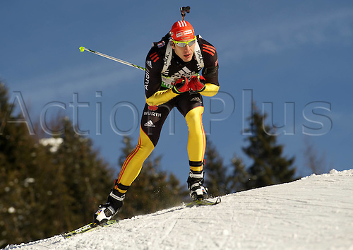 09.12.2011, Hochfilzen, Austria. The IBU Biathlon men's 10km Sprint Peiffer Arnd ger
