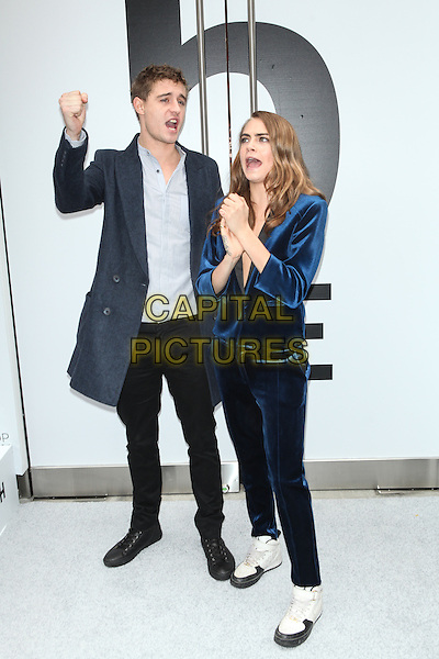 NEW YORK - November 5:  Max Irons and Cara Delevingne  attend the Topshop Topman New York City Flagship Grand Opening on November 5, 2014 in New York City. <br /> CAP/MPI/MPI99<br /> &copy;MPI99/MPI/Capital Pictures