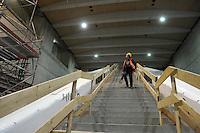 Begehung Citytunnel City-Tunnel Leipzig - Stationen Hauptbahnhof, Markt, Wilhelm-Leuschner-Platz - die Stationen bekommen so langsam ihren Innenausbau - Verkleidungen werden an die Wände gebracht und die Signalanlage sind an einigen Stellen auch schon vorbereitet - im Bild: Station Markt.  Foto: aif / Norman Rembarz..Jegliche kommerzielle wie redaktionelle Nutzung ist honorar- und mehrwertsteuerpflichtig! Persönlichkeitsrechte sind zu wahren. Es wird keine Haftung übernommen bei Verletzung von Rechten Dritter. Autoren-Nennung gem. §13 UrhGes. wird verlangt. Weitergabe an Dritte nur nach  vorheriger Absprache. Online-Nutzung ist separat kostenpflichtig...