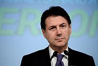 Roma, 3 Luglio 2018<br /> Il Presidente del Consiglio Giuseppe Conte,<br /> Presentazione alla stampa del Decreto Dignit&agrave; varato dal Governo