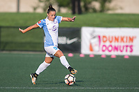 Allston, MA - Saturday August 19, 2017: Camila Martins Pereira during a regular season National Women's Soccer League (NWSL) match between the Boston Breakers and the Orlando Pride at Jordan Field.