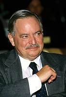 Montreal (Qc) CANADA, November 1994 File Photo -<br /> Parti Quebecois (PQ) Leader Jacques Parizeau .<br /> <br /> Photo by Pierre Roussel / Images Distribution