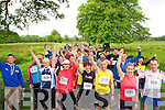 Runners at the start line of Bee for Battens 5k run in the Killarney National Park last Saturday morning.