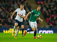 West Bromwich Albion Jay Rodriguez during the Premier League match between Tottenham Hotspur and West Bromwich Albion at Wembley Stadium, London, England on 25 November 2017. Photo by Andrew Aleksiejczuk / PRiME Media Images.