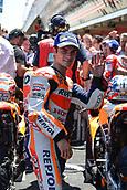 June 11th 2017, Barcelona Circuit, Montmelo, Catalunya, Spain; MotoGP Grand Prix of Catalunya, Race Day; Dani Pedrosa (Repsol Honda) takes 3rd place in the race