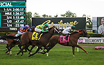 May 11, 2019: Channel Maker, ridden by Joel Rosario, wins the 2019 running of the G1 Man O' War at Belmont Park in Elmont, NY. Sophie Shore/ESW/CSM