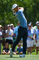 Thorbjorn Olesen (DEN) watches his tee shot on 2 during round 1 of the WGC FedEx St. Jude Invitational, TPC Southwind, Memphis, Tennessee, USA. 7/25/2019.<br /> Picture Ken Murray / Golffile.ie<br /> <br /> All photo usage must carry mandatory copyright credit (© Golffile | Ken Murray)