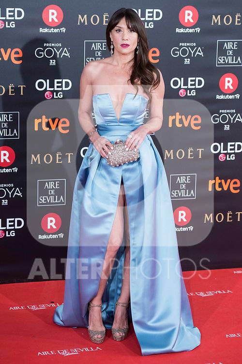 Maria Botto attends red carpet of Goya Cinema Awards 2018 at Madrid Marriott Auditorium in Madrid , Spain. February 03, 2018. (ALTERPHOTOS/Borja B.Hojas)