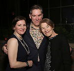 """Michelle di Leo, Daniel Pearce Jackson Hodges and Glenda Jackson  during the Opening Night After Party for """"Three Tall Women"""" at the Bowery Hotel on 3/29/2018 in New York City."""