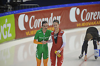 SCHAATSEN: HEERENVEEN: 28-12-2013, IJsstadion Thialf, KNSB Kwalificatie Toernooi (KKT), 10.000m, Bob de Jong, Jan Blokhuijsen, ©foto Martin de Jong