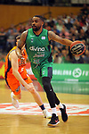 League ACB-ENDESA 2017/2018. Game: 30.<br /> Divina Seguros Joventut vs Valencia Baket Club: 77-75.<br /> Patrick Richard.
