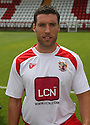 Jon Ashton of Stevenage at the Stevenage FC team photo shoot at The Lamex Stadium, Broadhall Way, Stevenage on Saturday, 24th July, 2010.© Kevin Coleman 2010