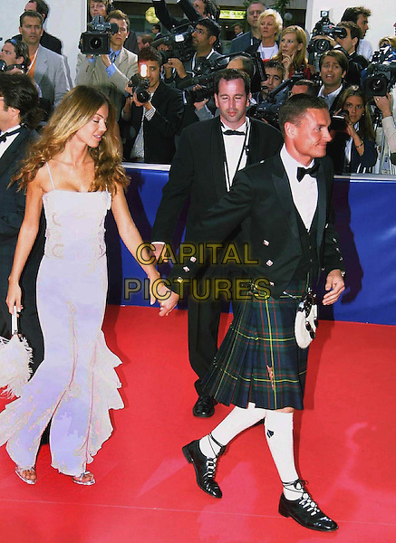 DAVID COULTHARD.Arriving At The Last Evening Of Laureus World Sports Awards To Honour The Best Athletes Of The Year.  .girlfriend, bow tie, kilt, holding hands, red carpet, full length, full-length.www.capitalpictures.com.sales@capitalpictures.com.©Capital Pictures.