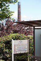 Entrance to one of perfume manufacturer Robertet's sites in Grasse, France, 4 May 2013