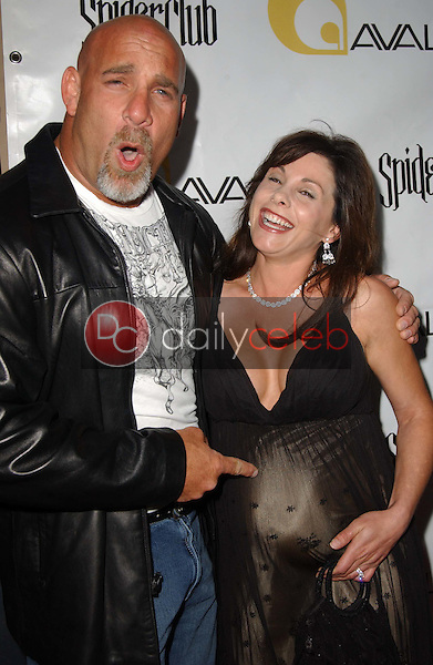 Bill Goldberg and Wanda Ferraton<br />at the Larpy Awards. Avalon, Hollywood, CA. 04-30-06<br />Dave Edwards/DailyCeleb.com 818-249-4998