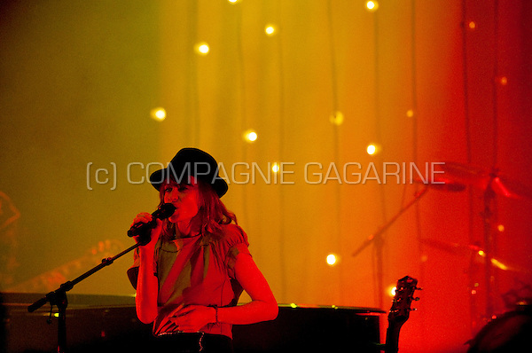 Concert of the Belgian singer Axelle Red in the Ancienne Belgique, Brussels (Belgium, 02/12/2009)