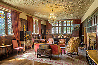 BNPS.co.uk (01202 558833)<br /> Pic: Savills/BNPS.<br /> <br /> One of the stunning interiors at Athelhampton House.<br /> <br /> The contents of one of England's finest stately homes are expected to fetch over £1m when they go under the hammer.The auction of a myriad of treasures inside Athelhampton House in Dorset is being hailed as one of the best country house sales for a generation The collection of fine art, furniture, sculptures, paintings and rugs has been amassed by three generations of the Cooke family who have just sold the Tudor mansion for £7.5m.