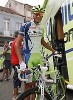 Eros Capecchi during the stage of La Vuelta 2012 between Ponteareas and Sanxenxo.August 28,2012. (ALTERPHOTOS/Acero) /NortePhoto.com<br /> <br /> **CREDITO*OBLIGATORIO** <br /> *No*Venta*A*Terceros*<br /> *No*Sale*So*third*<br /> *** No*Se*Permite*Hacer*Archivo**<br /> *No*Sale*So*third*