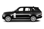 Car driver side profile view of a 2018 Land Rover Range Rover Autobiography Select Doors Door SUV