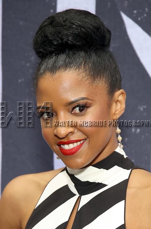 """Renee Elise Goldsberry attends the Broadway Opening Night Performance for """"Beetlejuice"""" at The Wintergarden on April 25, 2019  in New York City."""